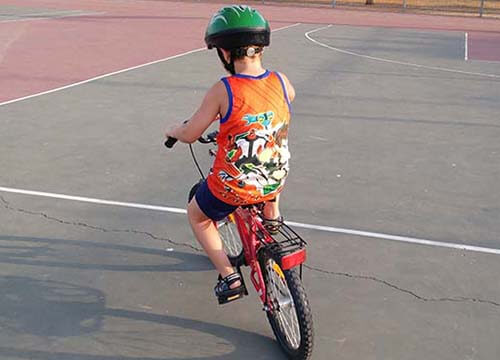 לימוד רכיבה על אופניים